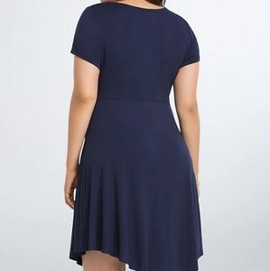 torrid Dresses - BUTTON FRONT SKATER DRESS